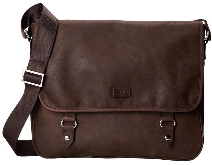 be8a74597b5f2 Lodis Accessories Hunter Messenger Bag, $140 | Zappos | Lookastic.com