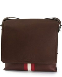 Bally Contrast Stripe Messenger Bag