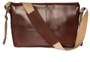 b5f7f5d3cc6 Brooks England Barbican Leather Messenger Bag, $500 | East Dane ...
