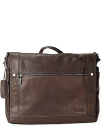 Kenneth Cole Reaction Colombian Leather Messenger Bag