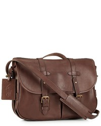... Polo Ralph Lauren Core Leather Messenger Satchel 4216bd3dd7a72