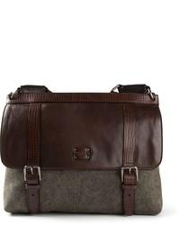 Dolce & Gabbana Two Tone Messenger Bag