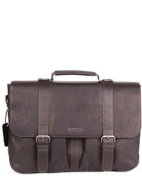 Kenneth Cole Reaction Double Gusset Messenger Bag