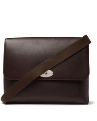 Mulberry East West Antony Padlock Pebble Grain Leather Messenger Bag