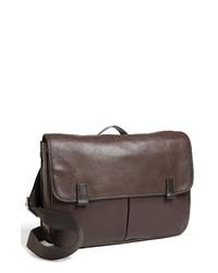 Fossil Mercer Ew Leather Messenger Bag