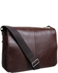 d8130f1e1987 Men s Dark Brown Leather Messenger Bags from Zappos