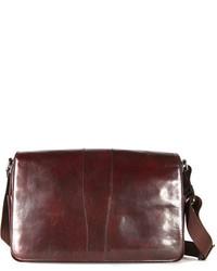 Leather messenger bag medium 142782