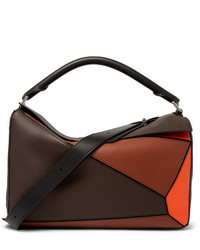 Loewe Puzzle Xl Full Grain Leather Messenger Bag