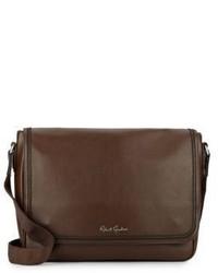 Robert Graham Oberon Leather Messenger Bag