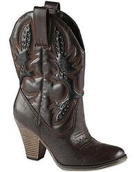 jcpenney Call It Springtm Marcelle Embellished High Heel Cowboy Boots