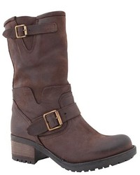 Luli Shoes Mid Calf Leather Boots