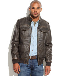 Forzieri Dark Brown Italian Four Pocket Leather Jacket | Where to ...