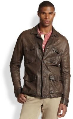 Billy Reid Military Leather Shirt Jacket | Where to buy & how to wear