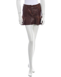 Leather skirt medium 259204
