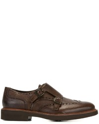 Canali Classic Monk Shoes