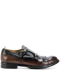 Officine Creative Monk Strap Shoes