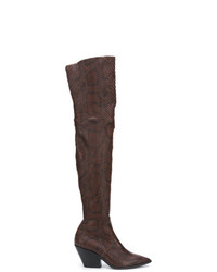 Casadei Daytime Over The Knee Cowboy Boots