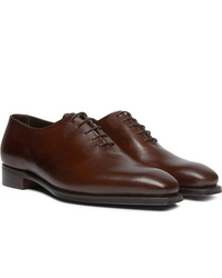 George Cleverley Alan 3 Whole Cut Leather Oxford Shoes