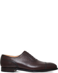 George Cleverley Adam Grain Leather Oxford Shoes