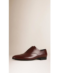 Burberry Leather Oxford Shoes