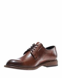 Luke leather lace up oxford brown medium 760574