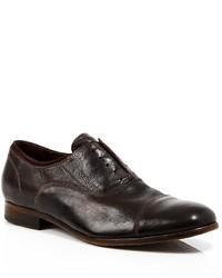 Robert Graham Palos Verdes Washed Leather Oxfords