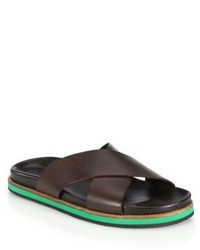 Ralph Lauren Hubert Criss Cross Sandals