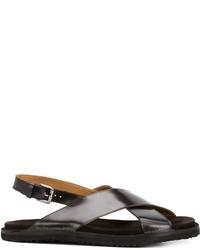 UMIT BENAN Cross Strap Sandals