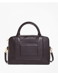 Brooks Brothers Calfskin Leather Betty Satchel