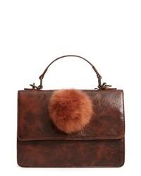 MUCHE ET MUCHETTE Eleanor Faux Leather Satchel With Faux