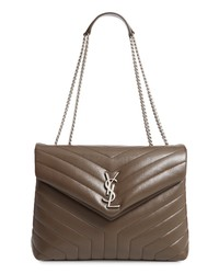 Saint Laurent Medium Loulou Calfskin Leather Shoulder Bag
