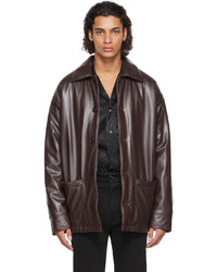 Opening Ceremony Faux Leather Car Jacket