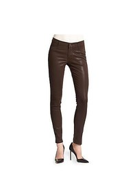 Dark Brown Skinny Jeans for Women | Women's Fashion