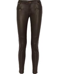 Michl michl kors leather skinny jeans medium 155919