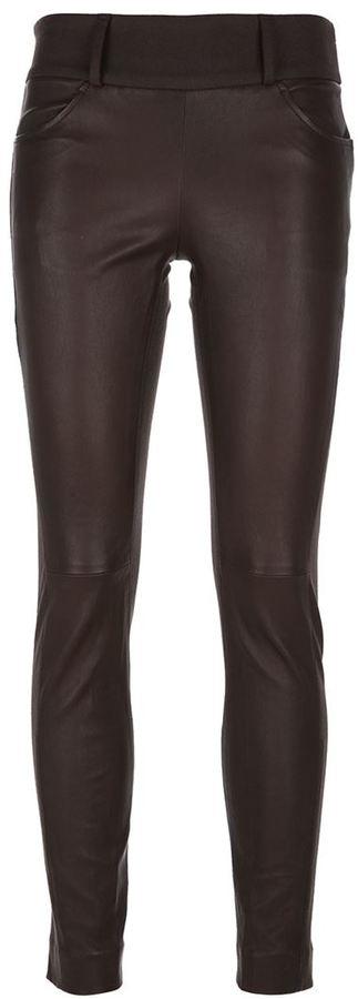 Brunello Cucinelli Contrast Panel Trouser