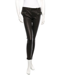 J Brand Leather Pants W Tags