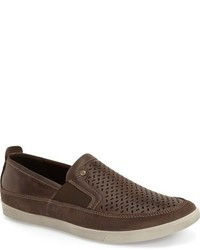 Collin perforated slip on sneaker medium 615098