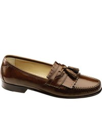 Johnston & Murphy Breland Kiltie Tassel Saddle Tan Calf Tassel Loafers