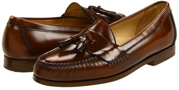 7ad798be3ae Pinch Tassel. Dark Brown Leather Tassel Loafers by Cole Haan