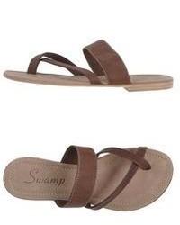 Swamp Toe Strap Sandals