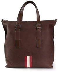 Bally Contrast Stripe Tote