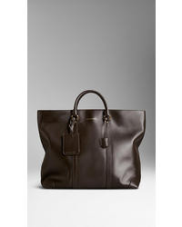 Burberry Sartorial Leather Tote Bag