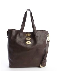 Mulberry Chocolate Brown Leather Brynmore Tote