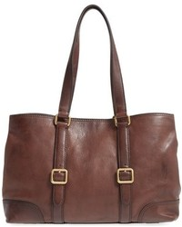 Frye Claude Leather Tote Brown
