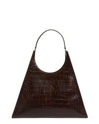 Staud Large Rey Leather Shoulder Bag