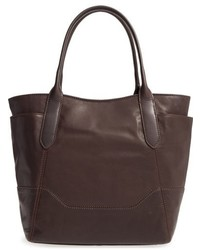 Paige leather tote black medium 951893