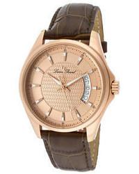 Lucien Piccard 98660 Rg 09 Excalibur Dark Brown Genuine Leather
