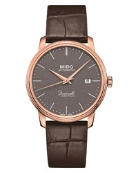 MIDO Baroncelli Heritage Automatic Leather Watch