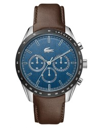 Lacoste Boston Chronograph Leather Watch