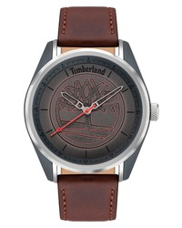 Timberland Brookmere Leather Watch